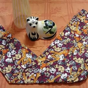 Leggings Bambi flowers Disney